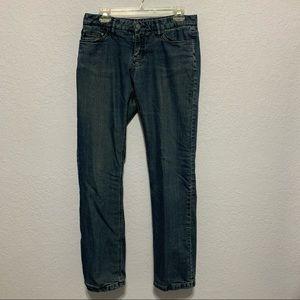 Prana Boyfriend Lined Blue Jeans